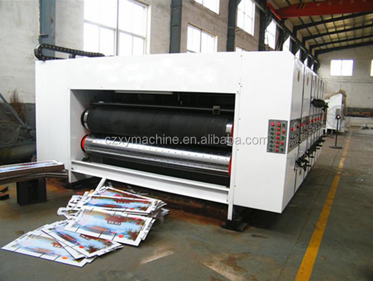 corrugated box machine price