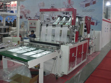 8 Lines Heat-sealing & Cold-cutting Plastic Bag Making Machine