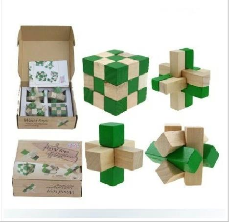 Wooden Magic Box with Secret Boxes Puzzle IQ Game