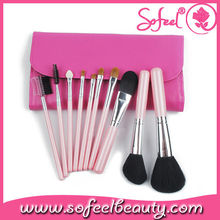 Sofeel 10pcs electric makeup brush set novelty cosmetic