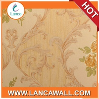 Bedroom Decor PVC Flower Wall Paper Manufacturer in China