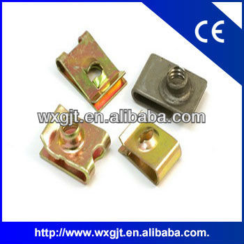 3.5-6.3mm high quality metal u clip for self tapping screw usd in Volkswagen,General Motors and BMW