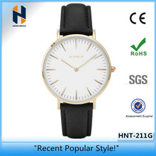 Fashion Hot Sale Waterproof Gift Ultra Thin Wrist Watch and Manufacturer Hot Sale Waterproof Gift Ultra Thin Wrist Watch