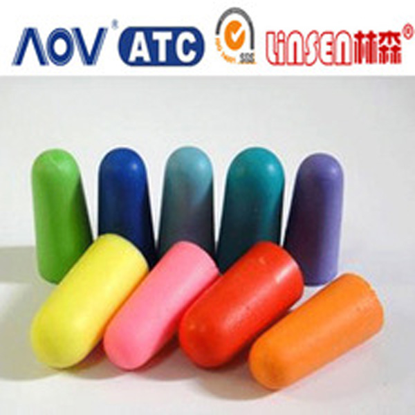 Guangzhou OEM professional supplier memory foam eco-friendly colored earplugs