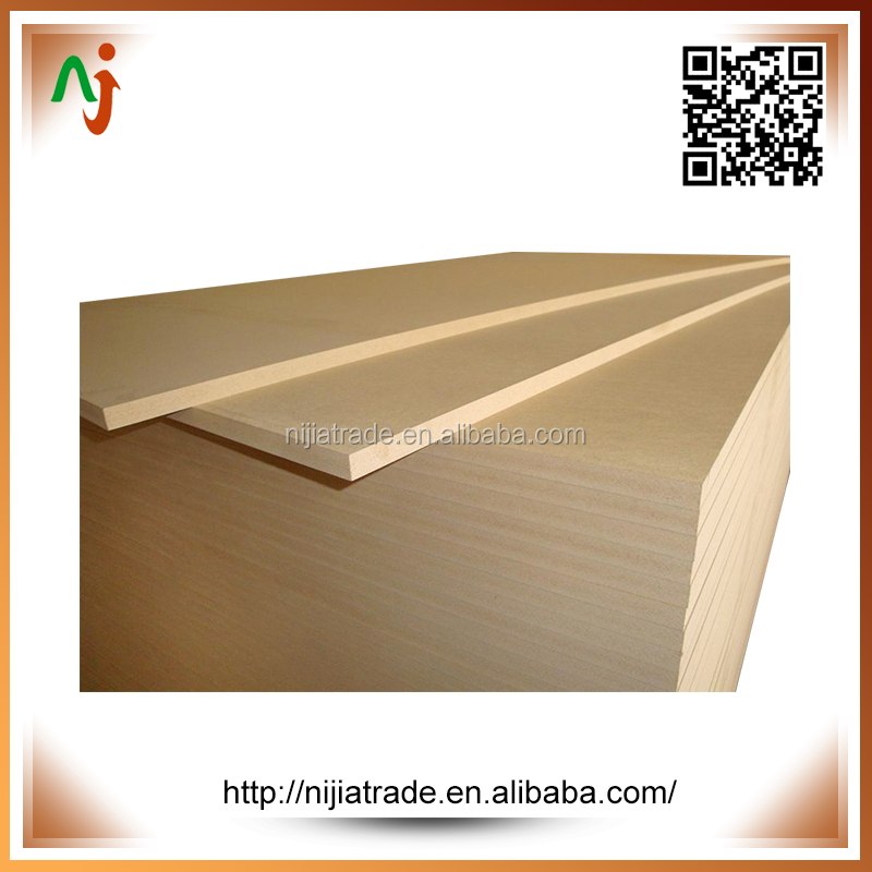 White glossy polyester MDF board,white laminated MDF sheet,paper overlay mdf for decoration