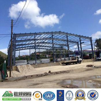 SBS Hot Sale Sandwiach Panel Prefabricated Steel Structure Warehouse