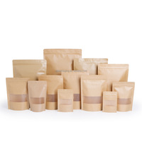 Kraft Paper Pouches/Kraft Paper Stand up Pouch/Kraft Paper Stand up Pouches with Zipper