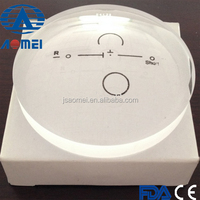 (ISO9001,CE,FDA)1.56short corridor progressive semi finished optical lens manufacturer
