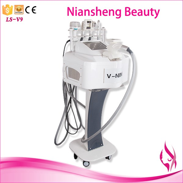 2017 best sale 5 in 1 rf roller bio Multifunctional ultrasonic slimming want cavitation aegis