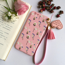 Cute Floral Tassel Mobile Phone Accessories For OPPO R9 Plus