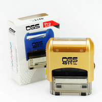 CGS4911 self inking stamp colop rubber stamp &Max stamp(38*14mm)