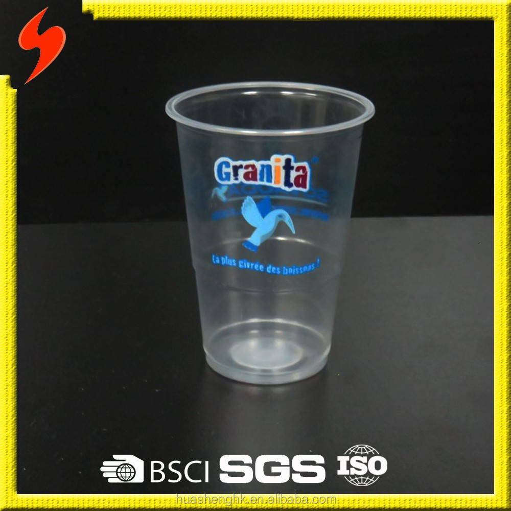 Freezer safe Food Grade OEM 200ml Water Cup with SGS Testing