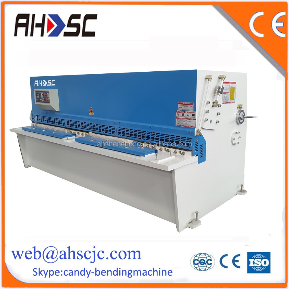 Shear Plate Machinery For Table Saw Cutter With CNC Stainless Steel Cutting Machine
