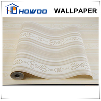 Howoo fabric backed vinyl floral wallpaper suppliers