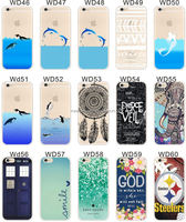 High quality DIY customized blank printing phone cases, TPU rubber sublimation phone case for iPhone 6/ 6 plus with metal insert