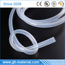 RoHS complied OEM thin wall Silicone rubber sleeve tubing