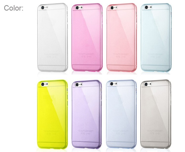 New hot sales crystal clear soft tpu back case tpu case for iPhone 6/6s,mobile phone shell