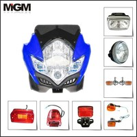 high quality all kinds motorcycle head lamp/motorcycle lamps