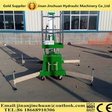 10m small towable aluminum alloy boom lift/hydraulic boom lift