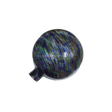 Multicolor small glass gazing garden ball