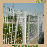 PVC coated pool roll top fencing for safety and security
