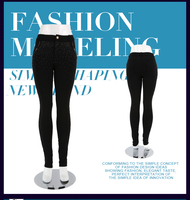 2015 Korean clothes fashion design sexy tight fitness women's pants from Trade assurance supplier
