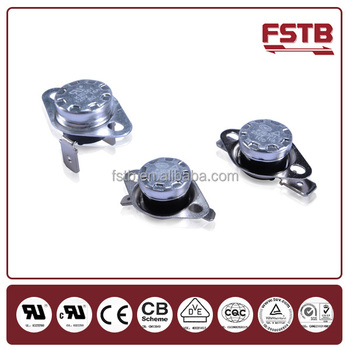 "1/2"" Snap Action Bimetal Disc Thermostat High Quality KSD 301 Thermal Switch Electrical Circuit Breakers TUV"
