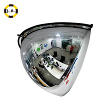 180 degree half dome mirror on the ceiling for the store <strong>safety</strong>