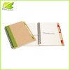 Cheap custom recycle material notebook for brand advertising