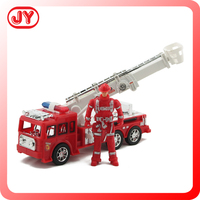 Friction powered toy fire truck wholesale toy cars with EN71 and ABS