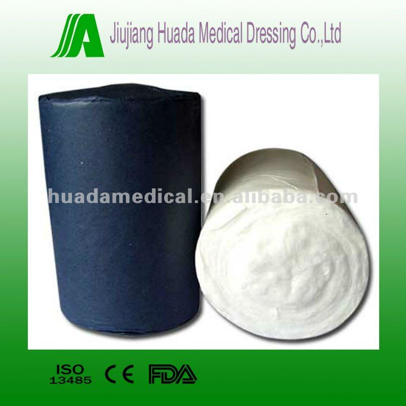 Different weight absorbent cotton wool/cotton roll for hospital