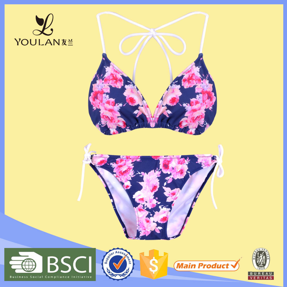 Customized LOGO Cultivate Sexy Fit Microkini Beach Bikini