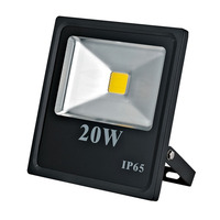 Waterproof IP65 die-casting aluminum housing 20w led flood light for outdoor use