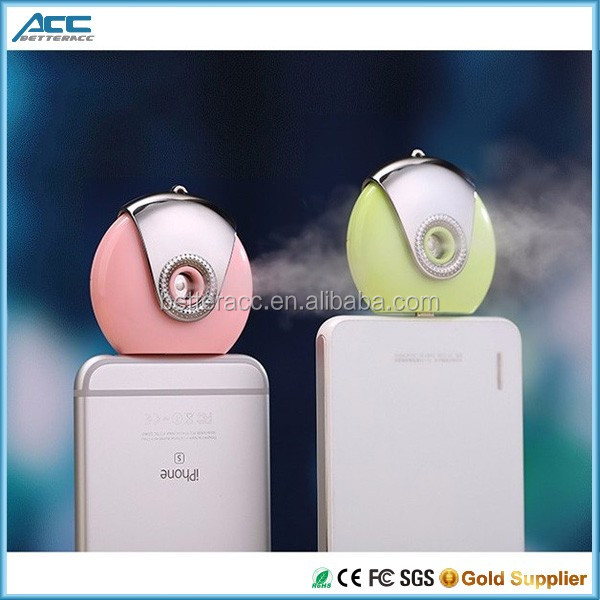 Mini portable mobile phone water humidifier for iphone and samsung