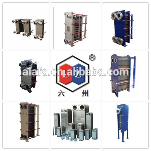 High efficiency dairy plate heat exchanger for food industry