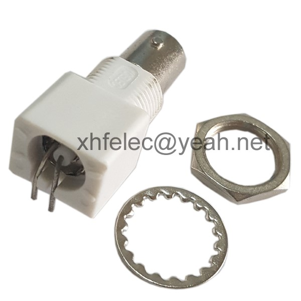 plastic female BNC connector