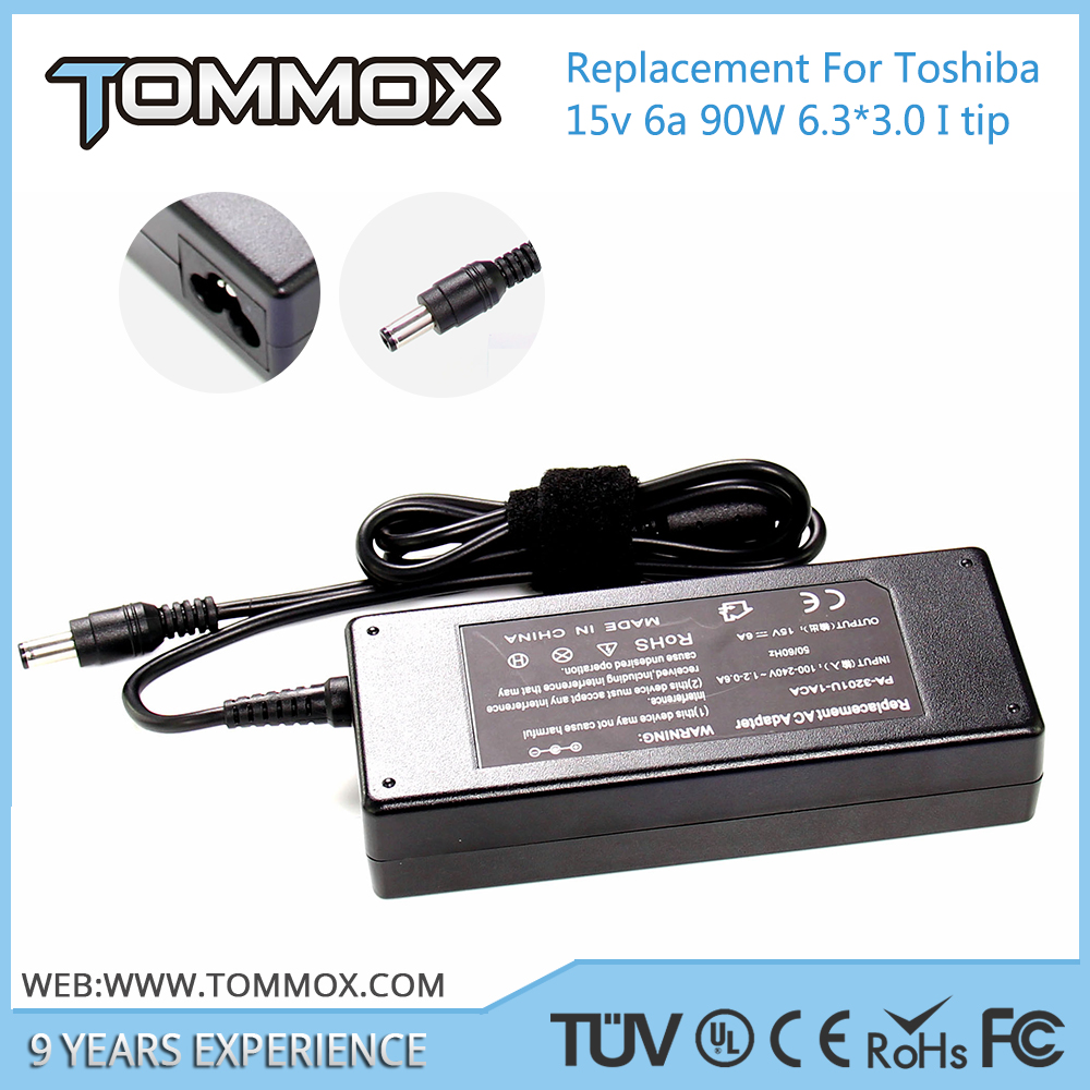 15V 6A 90W 6.3*3.0 laptop adapter PA2521U-2AC3 for 8000, 8100, 8200, 9000, 9100