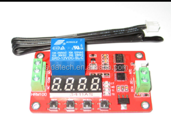 Digital thermostat temperature control switch high precision measurement thermistor relay control module