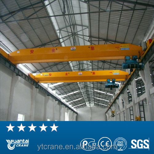2016 new type 5t and 10t single beam overhead traveling hoist crane from China manufacturer