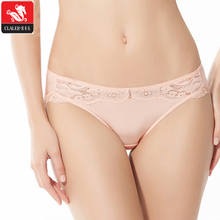 Wholesale lace hem crystal decorated full size black ladies hot open sexy panty