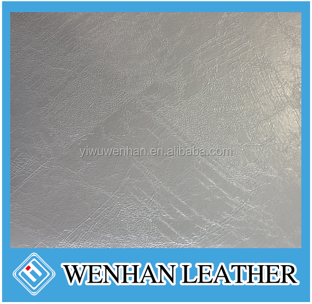 High quality Ostrich grain 100% pu synthetic leather for bags