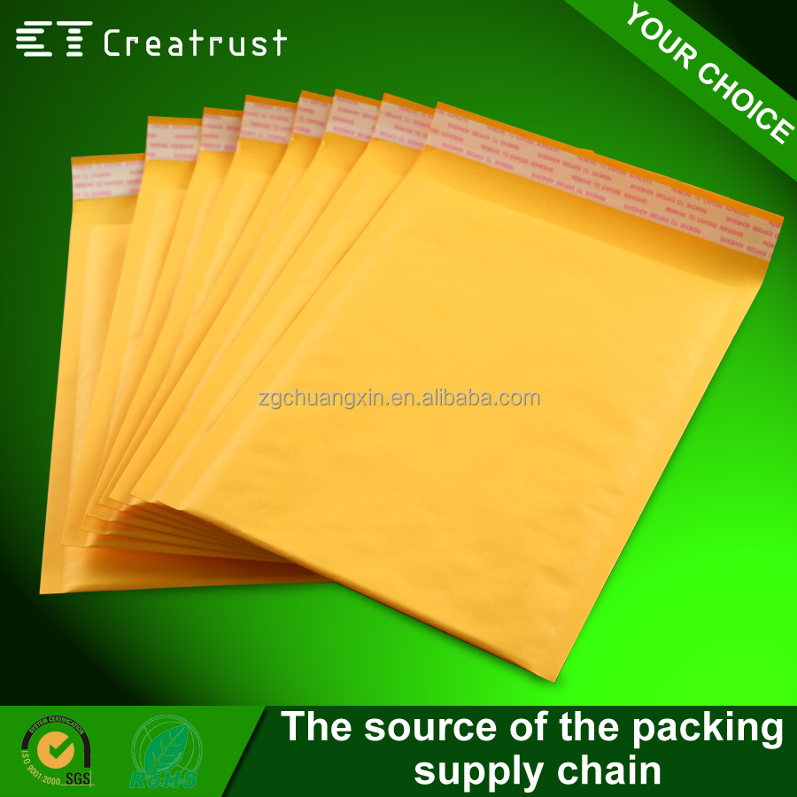 Wholesale for Express Company New Raw Materials Bubble Kraft Mailer