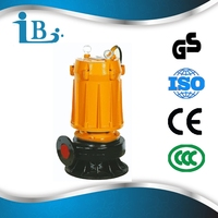 WQ no clog vertical sewage dredging used centrifugal submersible dewatering water pumps for sale/Goods from china manufacturer