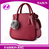 2017 New style European durable custom-made fashion diamond pattern designer dark red cheap designer beijing inspired handbags