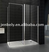 6mm or 8mm glass thickness shower room