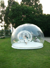 HI 0.6mm PVC high quality Transparent commercial inflatable camping bubble tent for sale