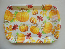 Packing fruit vegetables plastic serving tray/christmas serving tray
