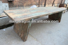 Antique recycle wood dinning table