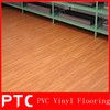 Home gym PVC wooden vinyl flooring roll
