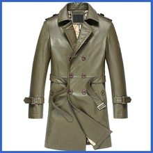 Men leather king jackets with PU coating